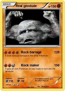 Pokémon Real geodude 3 3 - Rock barrage - My Pokemon Card