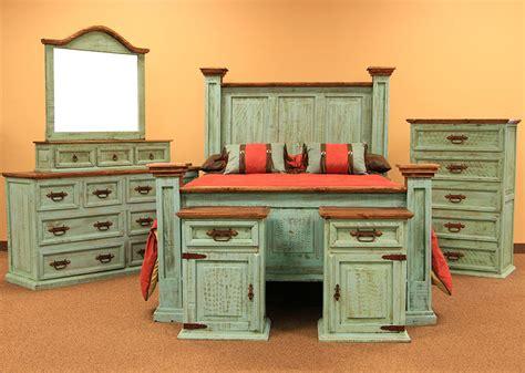dallas designer furniture turquoise washed rustic