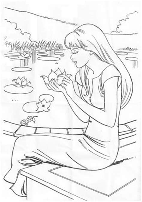 Barbie Dream House Coloring Pages - Eskayalitim
