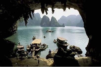 Cave Water Wallpapers Vietnam Desktop Grotto Caves