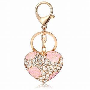 bijoux porte clef coeur accessoire de sac With porte clef bijoux
