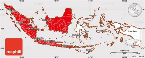 flag simple map  indonesia flag aligned   middle