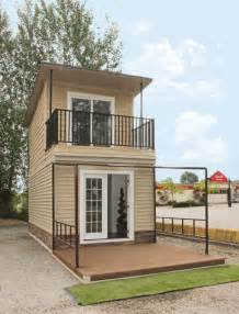small two story cabin plans the eagle 1 a 350 sq ft 2 story steel framed micro home