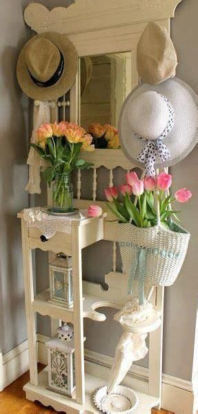 decorating tiny chic tree entry chic shabby vintage decor hat stands shabby and country