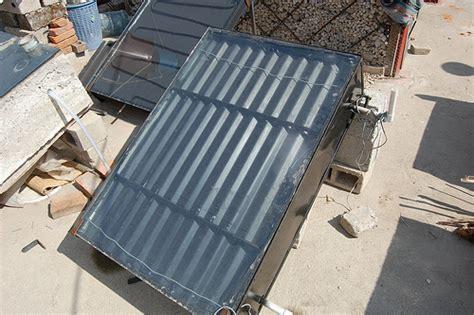 chambre froide mobile autoconstruction chauffe eau solaire