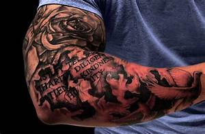 25 Hot Design Of Sleeve Tattoos - Inspire Leads