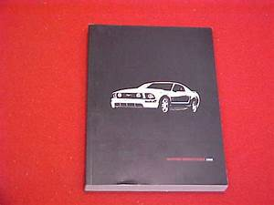 2008 Ford Mustang New Owners Manual Service Guide Book 08