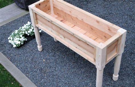 flower box planter  design plans jon peters art home