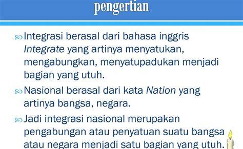 Unity in diversity & diversity in unity. Contoh Soal Pilihan Ganda Tentang Integrasi Nasional Dalam ...