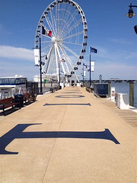 capital wheel  national harbor contemporary picket