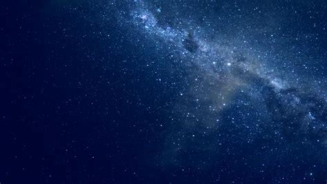 Night Starry Sky Milky Way Stock Footage Video 100