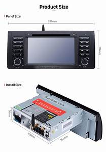 Android 9 1 Car Dvd Player For Bmw X5 E53 With Gps Radio