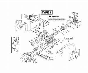 Mcculloch Mac 2316 Av  952802077  Chainsaw Chassis