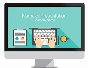 Computer powerpoint template presentationdeckcom for Powerpoint templates computer theme
