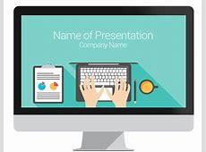 Computer PowerPoint Template PresentationDeckcom