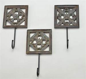 examples of using decorative wall hooks to inspire you a With decorative wall hooks