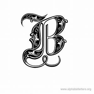 Decorative Alphabet Letters Printable   theveliger