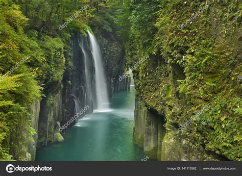 The Takachiho Gorge On The Island Of Kyushu Japan — Stock