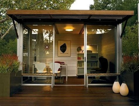 ideas  outdoor offices beautyharmonylife