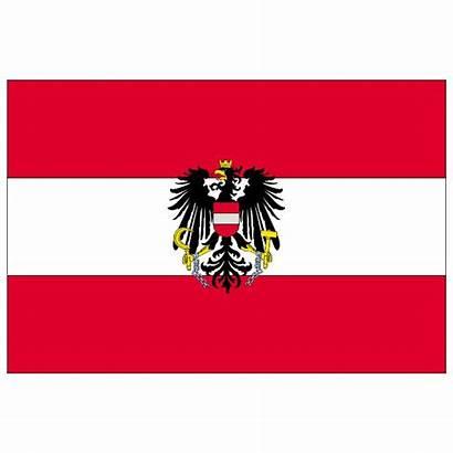 Flag Austrian Austria Vector Vectorportal 1305
