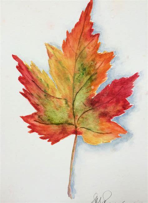 watercolor fall leaves google search fall decore