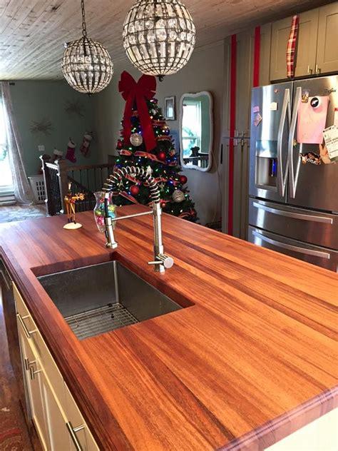 mahogany butcher block countertops mahogany butcher block countertop with monocoat