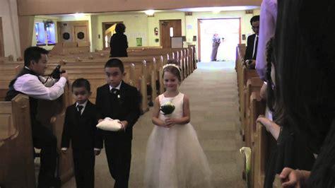 church wedding entrance youtube
