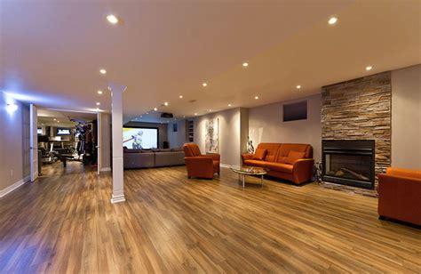 open concept basement ideas