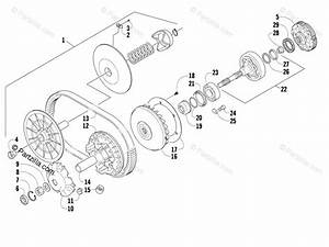 Arctic Cat Side By Side 2008 Oem Parts Diagram For Transmission Assembly