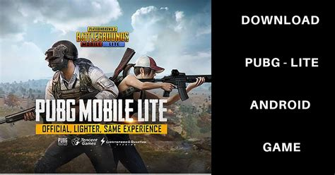 pubg mobile lite  apk update   android