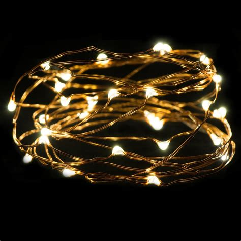 oak leaf 30 super bright led rope and string light 9 8