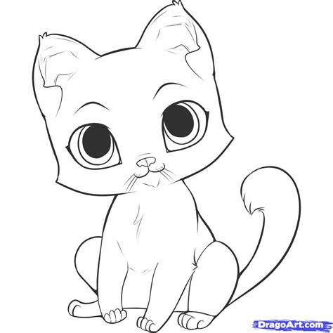 step    draw  easy kitten