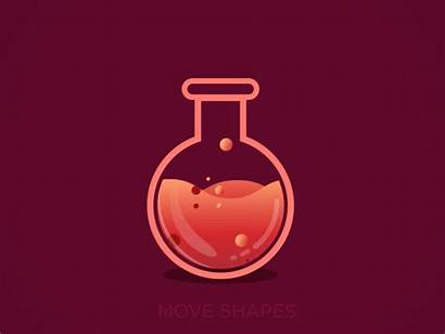 Chemical Animation Gifs Experiment Fluid Science Move