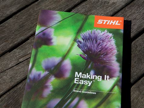Stihl  Making It Easy Brand Guidelines On Behance