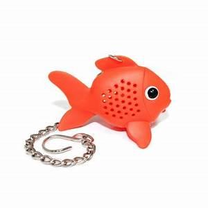 Infuseur A Thé : infuseur th poisson rouge cadeau original pour le tea time super insolite ~ Teatrodelosmanantiales.com Idées de Décoration