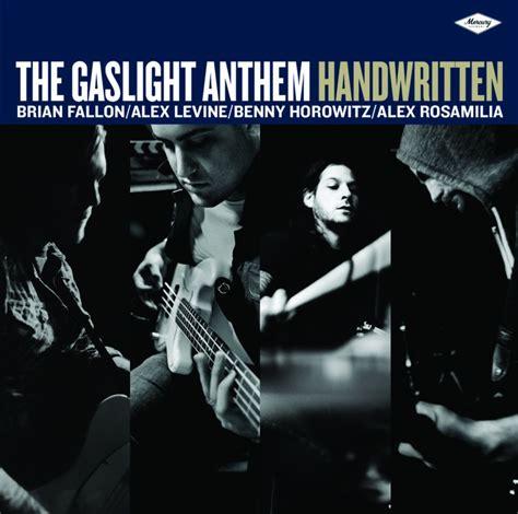 Gaslight Anthem Sink Or Swim Album by The Gaslight Anthem Handwritten Gestromt De