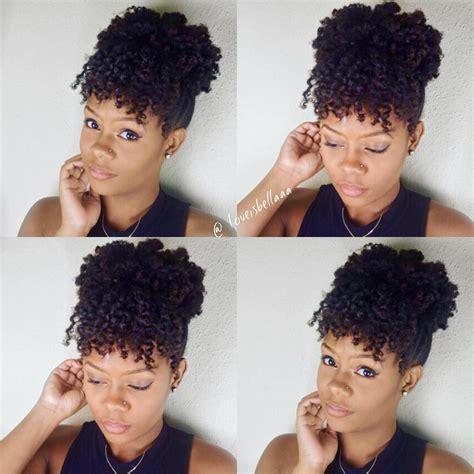 3 quick everyday natural hair styles natural hair