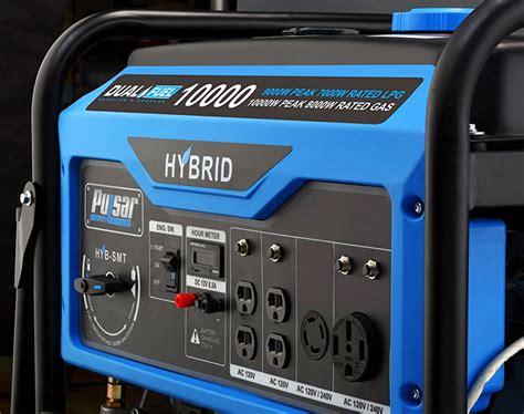 generator fuel dual amp portable rv power pulsar generators backup low