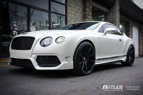 bentley custom rims bentley continental gt custom wheels vossen cv4 22x et