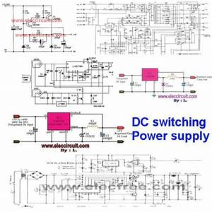 100  Power Supply Circuit Diagram With Pcb