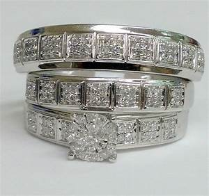 cheap wedding rings sets for him and her With wedding rings bands sets