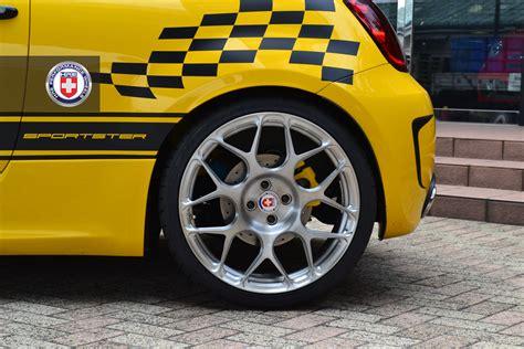 Fiat Rims by G Tech Fiat 500 Sportster On Hre Wheels Autoevolution