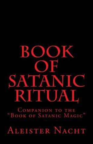 book  satanic ritual  aleister nacht