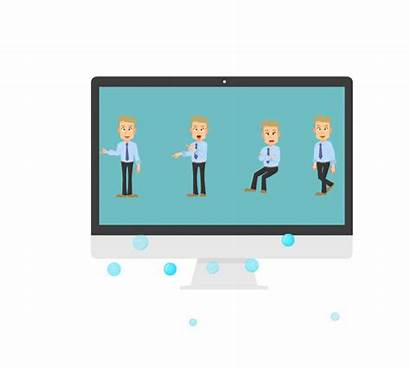 Presentation Software Maker Animated Focusky Roles