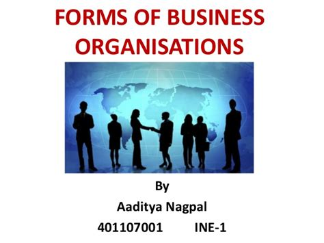Organization Business by Forms Of Business Organisations
