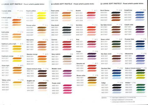 pastel color codes pastel color chart click for colour chart