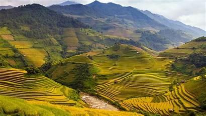 Vietnam Wallpapers Desktop Rice Terraces Backgrounds War