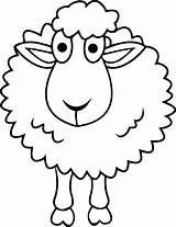 Sheep Coloring Pages Shepherd Simple Printable Drawing Drawings Sheet Sheets Shaun Minecraft Draw Bighorn March Am Clipartmag Getcolorings Wecoloringpage Getdrawings sketch template