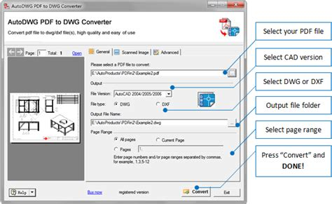 When svg to dwg conversion is completed, you can download your dwg file. Download AutoDWG PDF to DWG Converter for free