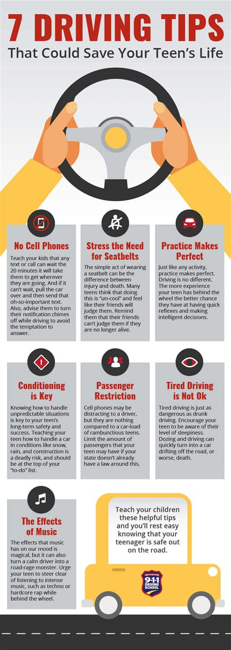 7 Driving Tips That Could Save Your Teens Life  911 Driving School